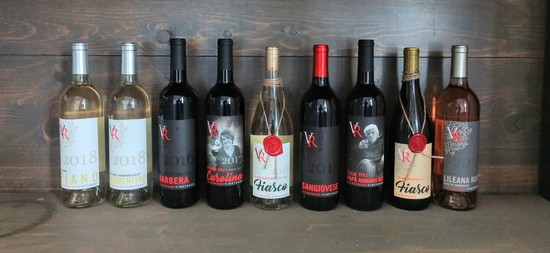 Via Romano Vineyards 2018 Wine Club Schedule
