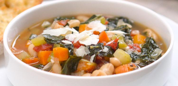 Leanne's Homemade Tuscan Bean Soup
