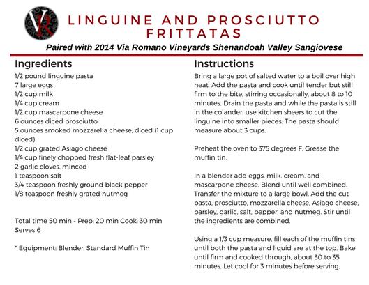 Via Romano Vineyards Products 2014 Sangiovese