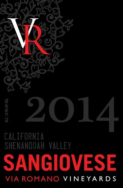 LIBRARY ~ 2014 Sangiovese