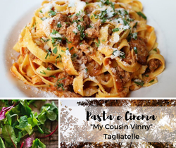 Pasta e Cinema | Tagliatelle | January 24
