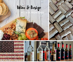 Wine & Design ~ American Cork Flag