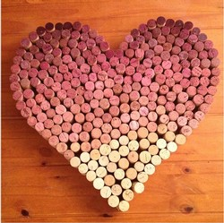 Valentine's Cork Crafting