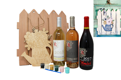Wine & Design in a Box | Hello Spring | Red