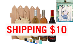 Wine & Design in a Box | $10 Shipping